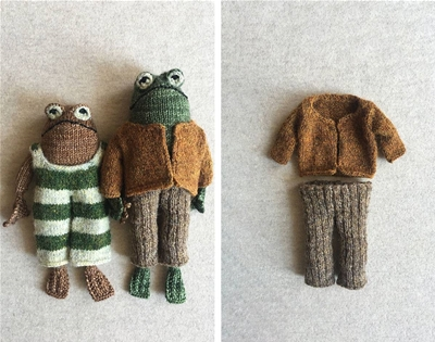 the frog and toad knitting pattern