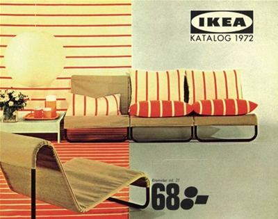 flip through 70 years of ikea catalogues