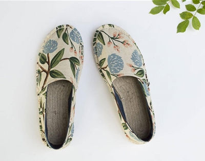 sew your own shoes using this crafty kit