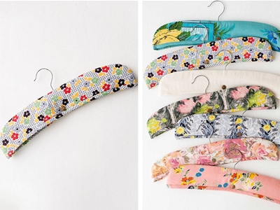 printed coat hangers by lazy bones