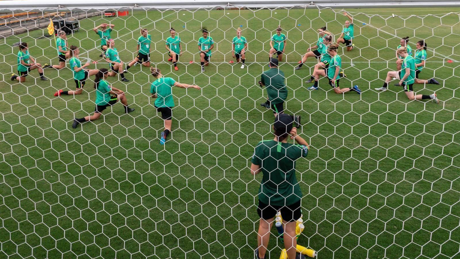 Pic Special: Matildas hit Leichhardt