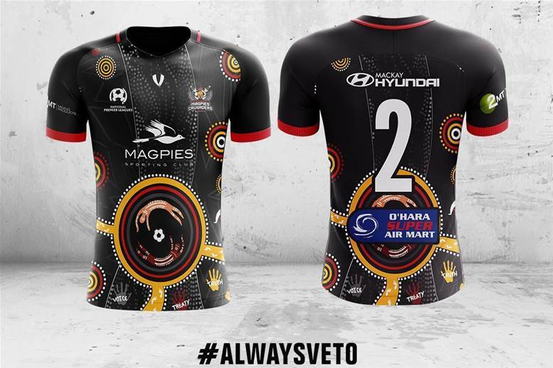 Gallery: Veto Sports produce Indigenous inspired kits for NAIDOC week