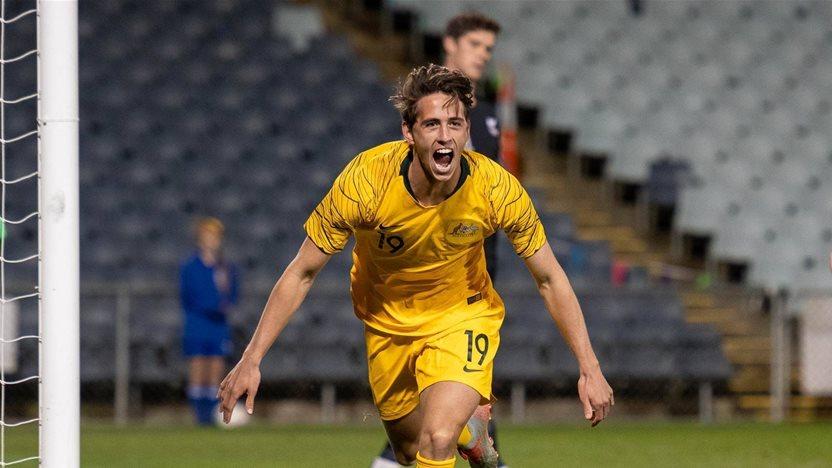 On the sidelines: Australia U23s vs New Zealand U23s