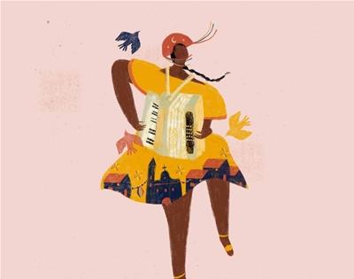 paula de aguiar's lively illustrations