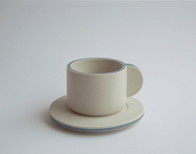 yuting chang's plywood-inspired porcelain