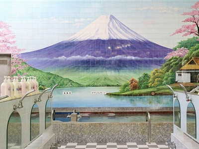 take a tour of tokyo's colourful bathhouses