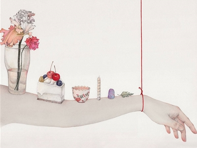 vicki ling's 'hanging by a string'
