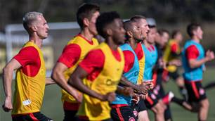 Pic special: WSW return to training
