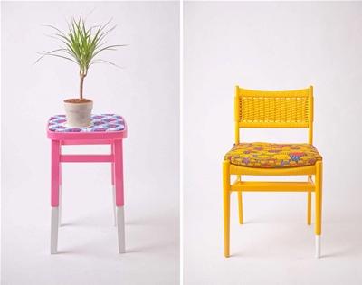 yinka ilori's upcycled furniture