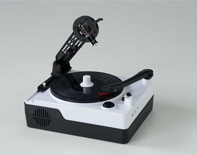 cut your own vinyl record with this nifty toy