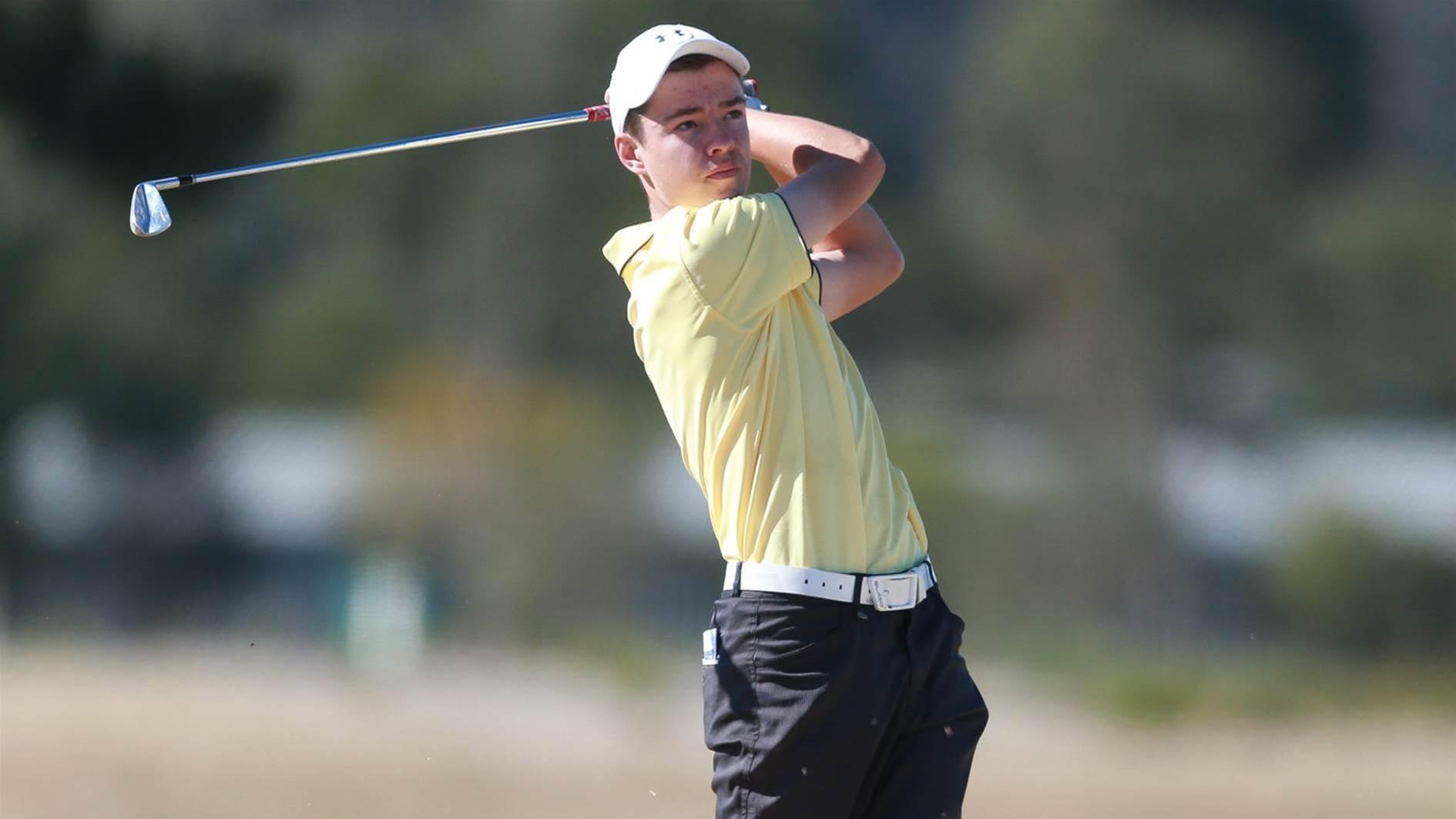 US colleges chase Aussie golf world champ