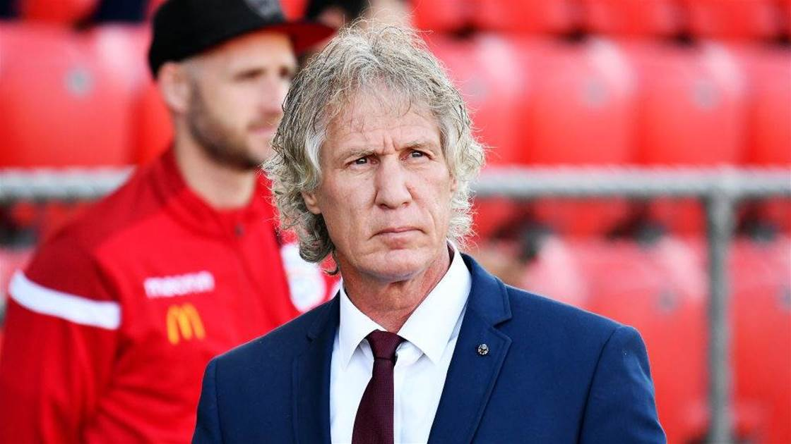 Verbeek gone? Adelaide coach's family prepare for Holland return