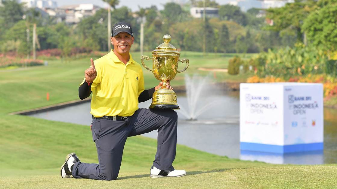 Carballo mounts fightback to win Indonesia Open