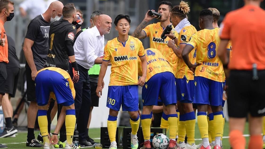 Kevin Muscat off to a winning start in Belgium
