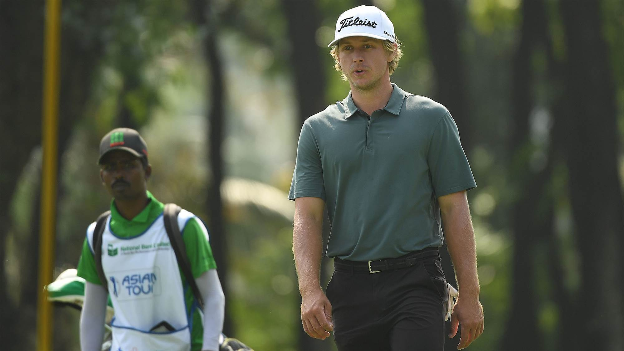 Maverick Antcliff leads in Bangladesh