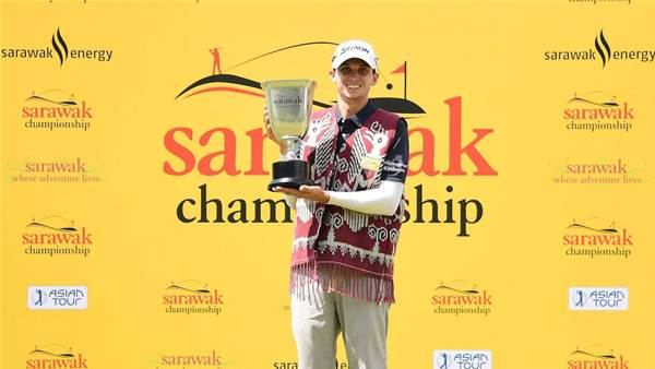 ASIAN TOUR: Catlin wins thriller at Sarawak Championship