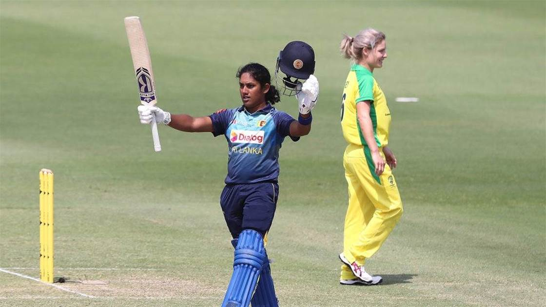 Meet Sri Lanka's greatest female cricketer