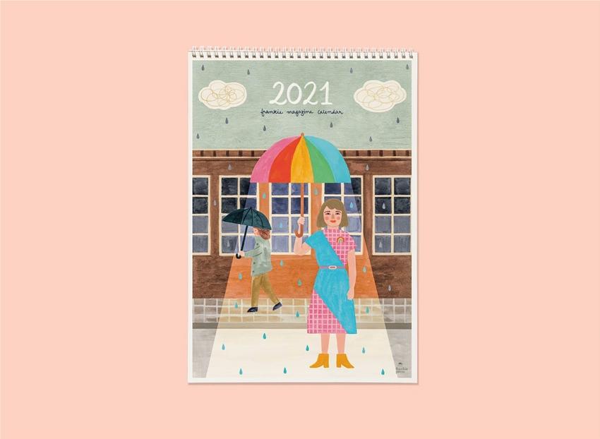 the artists behind the 2021 frankie calendar