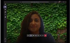 Microsoft Teams makes home video calls look more professional