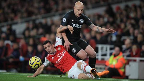 Mooy stars as Socceroos sink Arsenal in Premier League