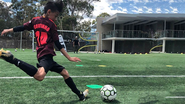 Spanish club invite Aussie junior Beckham Baker for trial