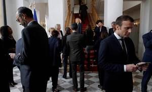 Macron presses US to help reform taxes on big tech