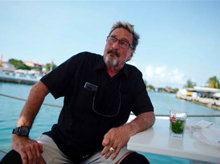 Controversial software mogul John McAfee dies in Spanish prison