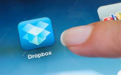 Dropbox shares rise more than 30 percent on first day