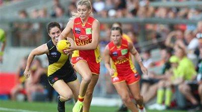Gold Coast excelling among AFLW's struggling expansion teams