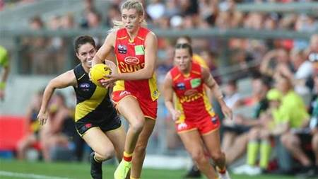 Gold Coast excelling among AFLW's struggling expansion teams