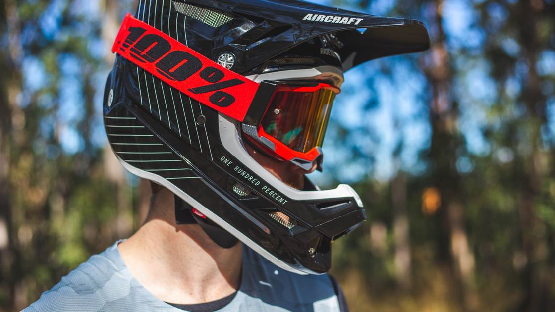 TESTED: 100 Percent Aircraft full-face helmet