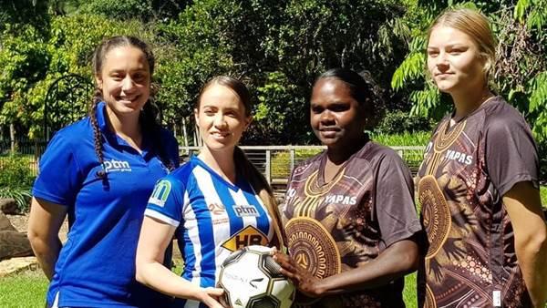 Indigenous team kicks off Australian football restart
