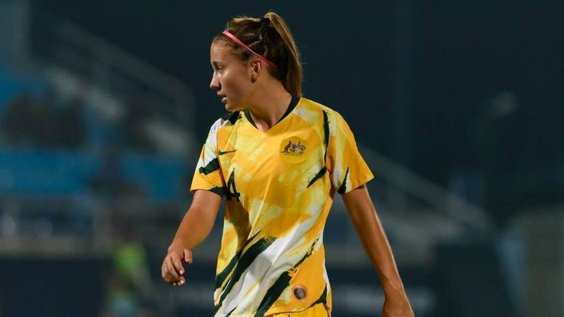Young Matildas' new Euro star says 'take too long, you get crunched'