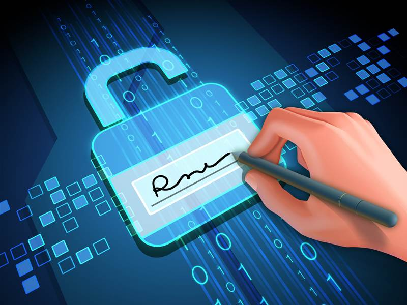 What makes digital signing secure?