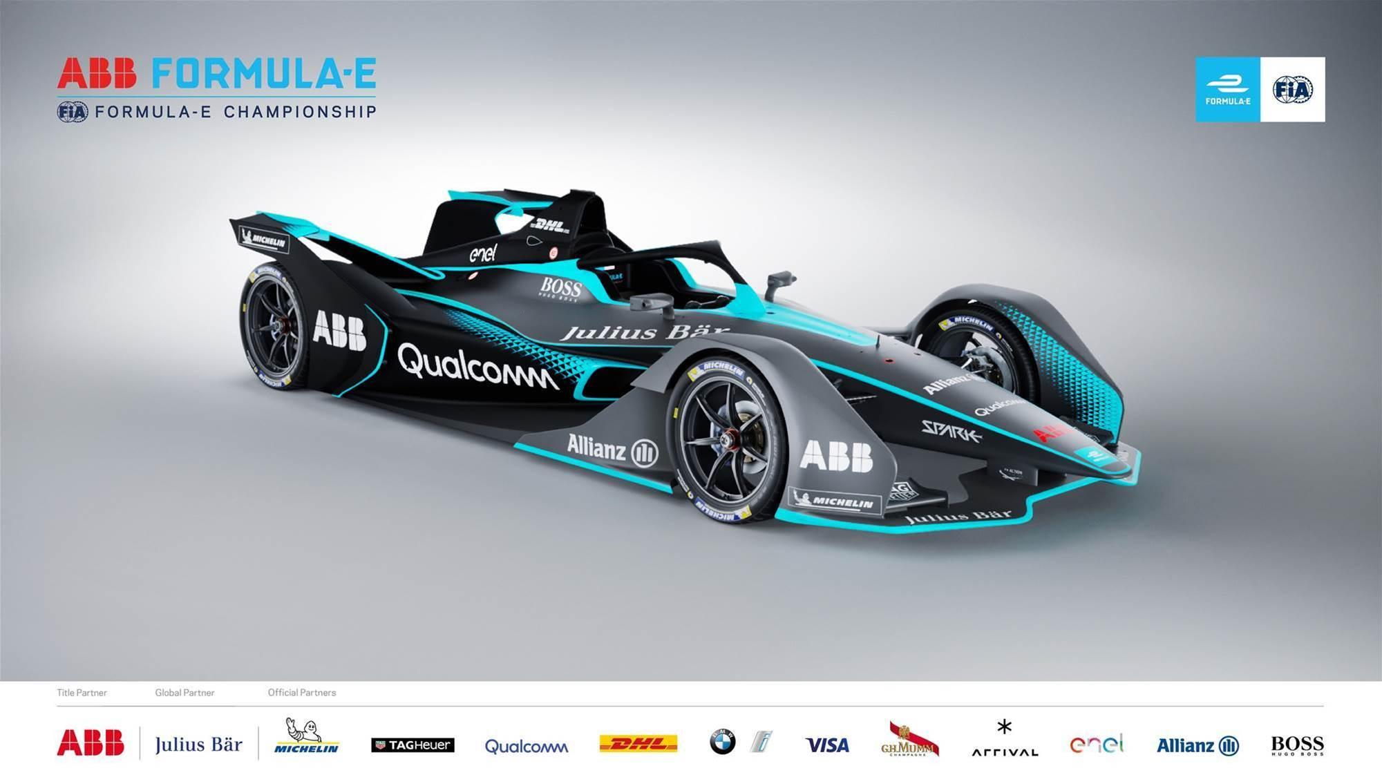 Second generation Formula E concept unveiled