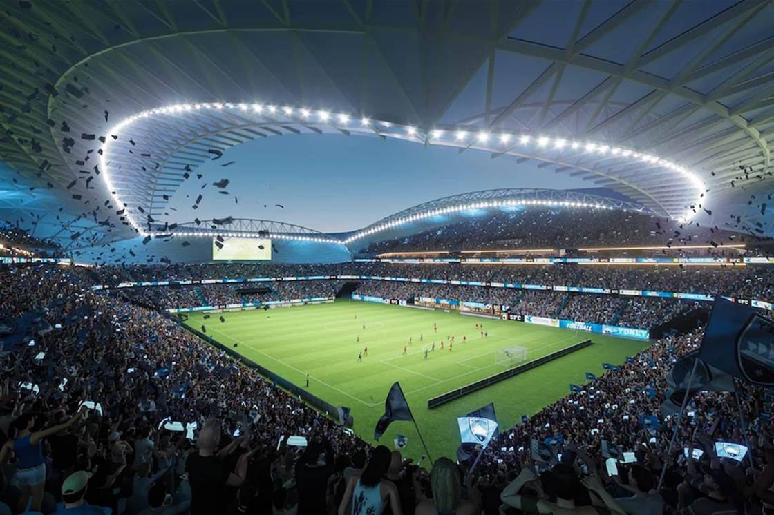 Sydney's new stadium a real crowd pleaser