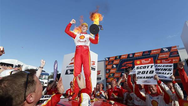 McLaughlin seals Supercars title in Newcastle