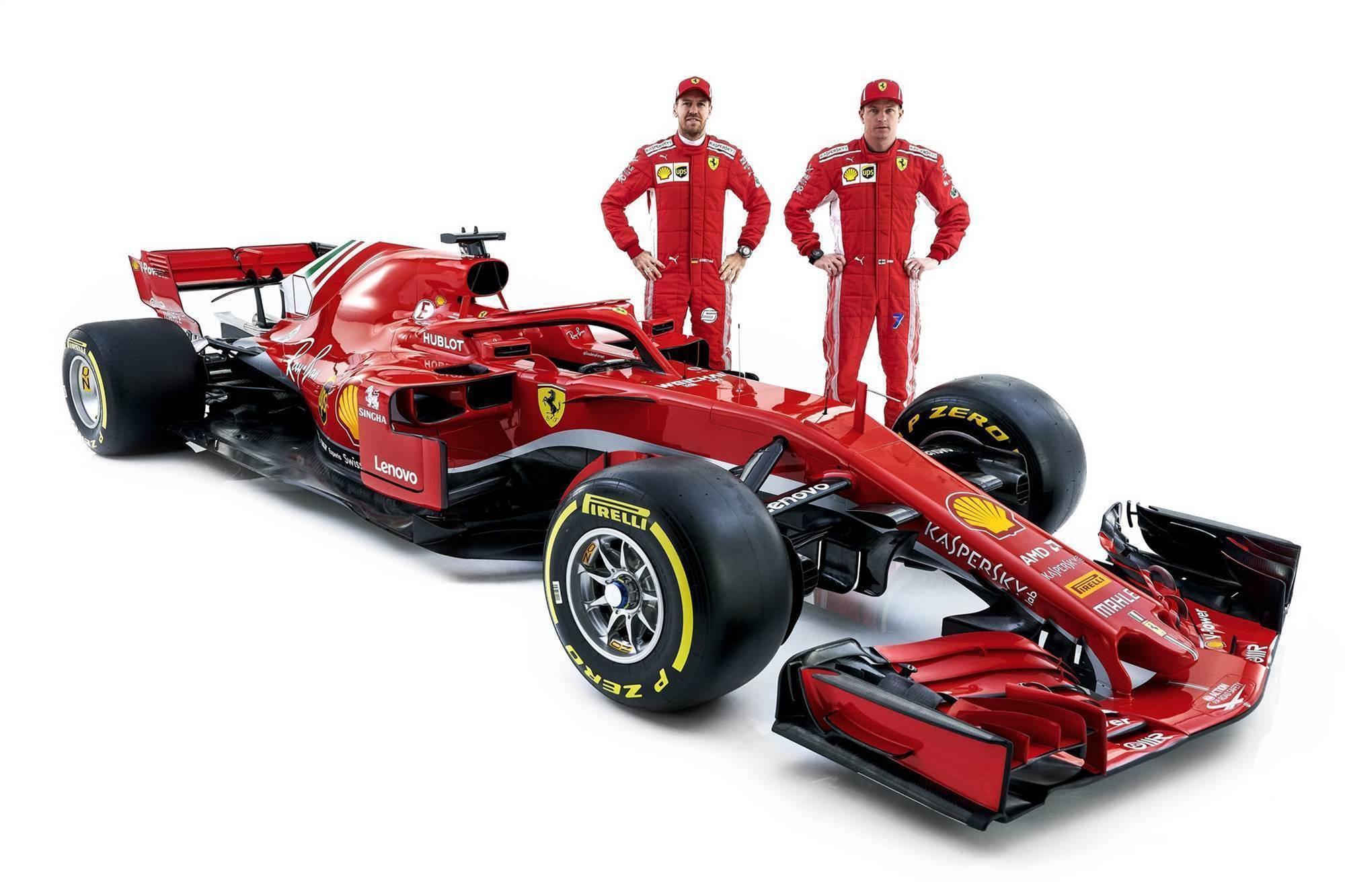 Ferrari launches new F1 contender