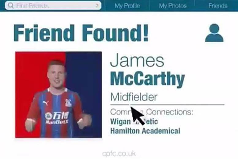 Watch! Crystal Palace announce James McCarthy signing in cringe-worthy video