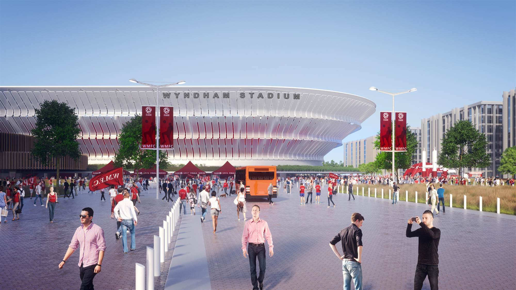 Western Melbourne expansion bid confirms home stadium