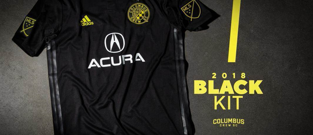 Columbus Crew drop stealthy black kit