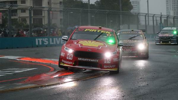 McLaughlin retakes points lead after stormswept Gold Coast Supercars
