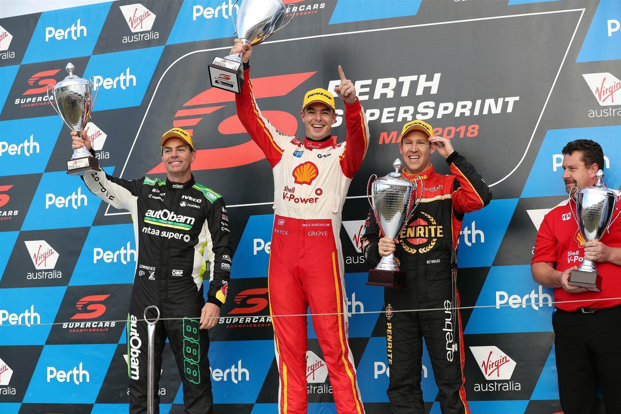 McLaughlin supreme in Perth Supercars