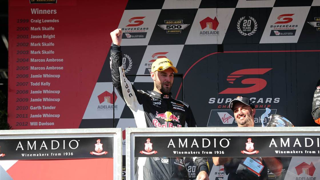 Van Gisbergen clean sweeps Supercars opener