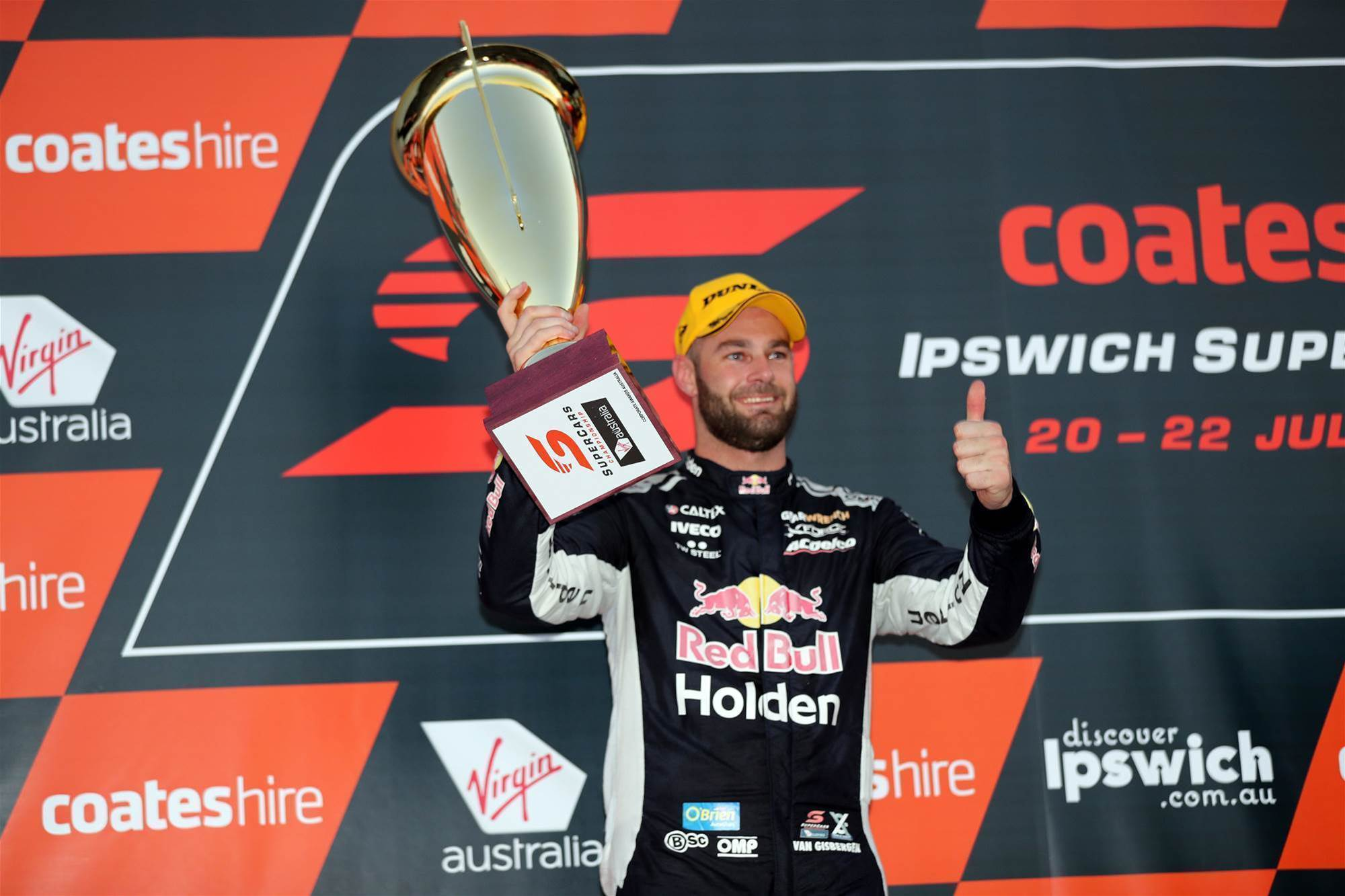 Van Gisbergen a match for McLaughlin in Ipswich Supercars