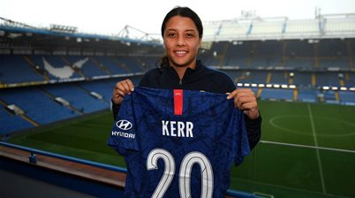 Matildas star Kerr signs with Chelsea