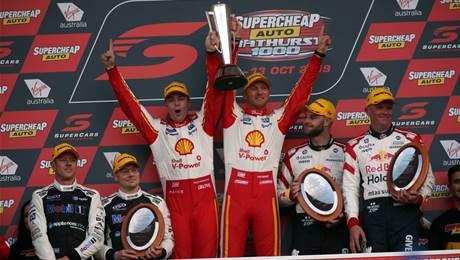McLaughlin and Mustang win Bathurst