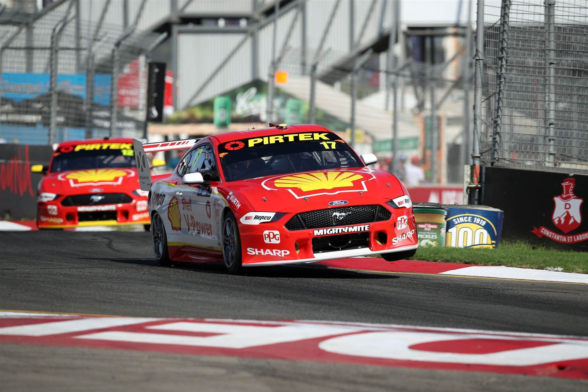 Mustang rides high in Supercars debut