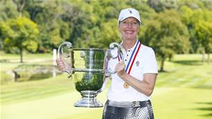Tennant repeats as US Senior Women's Amateur champion over Wooster