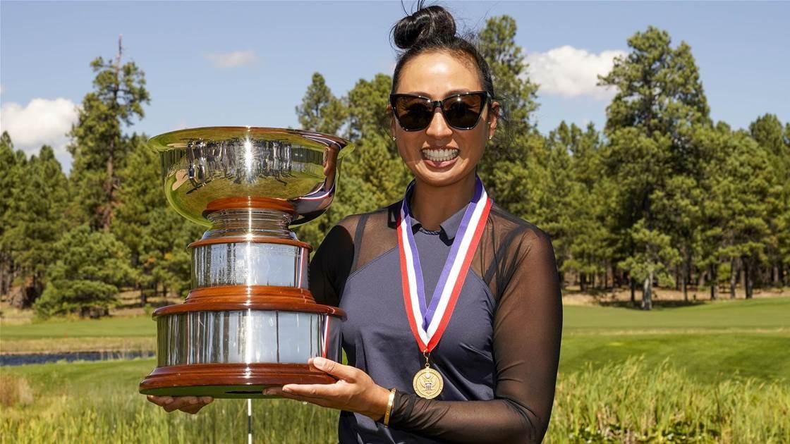 Kim-Schaad captures US Women's Mid-Amateur